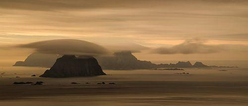 Vaeroy islands panorama van Wojciech Kruczynski