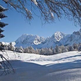 Karwendel im Winter von Fabian Roessler