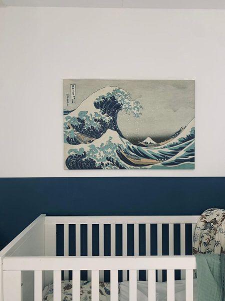 Kundenfoto: Die große Welle von Kanagawa, Hokusai