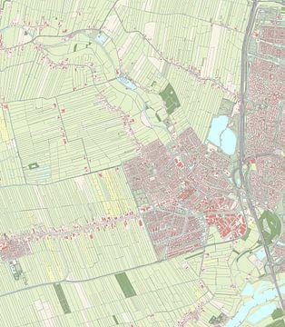 Kaart vanIJsselstein