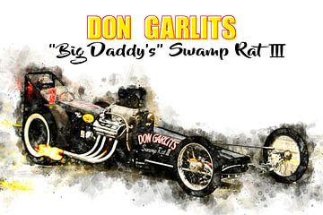 Don Garlits, Moerasrat 3, getiteld van Theodor Decker