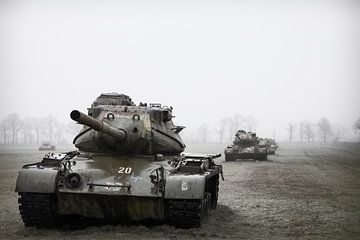 Urbex tanks van Ger Beekes