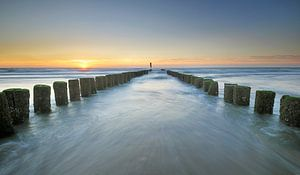 Paalhoofden Zeeuwse kust