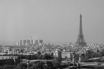 Uitzicht over Parijs van Sybo Lans