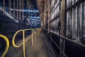 Urbex fotografie | Het lijnen spel van Steven Dijkshoorn