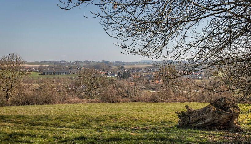 Panorama van Mechelen in Zuid-Limburg van John Kreukniet