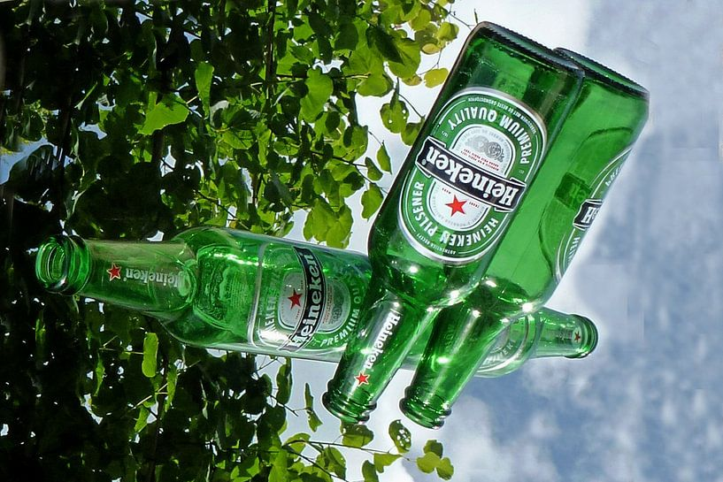 Heineken aan de muur van Fotografie Sybrandy