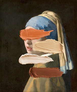 Meisje met de parel - Kleuren kiezen voor dummies van Rudy en Gisela Schlechter