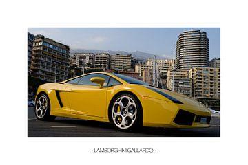 Lamborghini Gallardo (white edition) von Kevin Thomassen