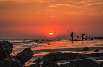Avondvissers van Robin Hardeman