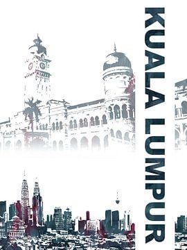 Kuala Lumpur sur Printed Artings
