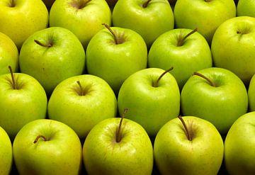 Veel groene appels van Achim Prill