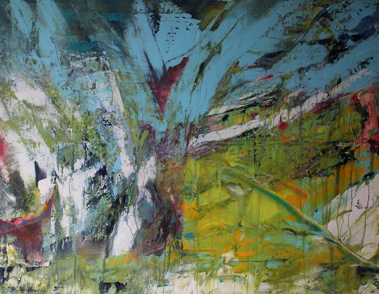 A Rainy Day van Sylvia Evans