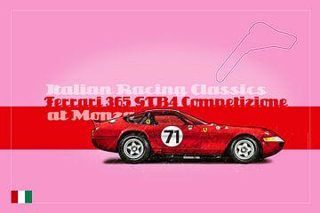 Ferrari 365 GTB4 Competizione at Monza von Theodor Decker