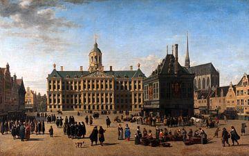 Das Rathaus auf dem Dam, Amsterdam - Gerrit Adriaensz Berckheyde