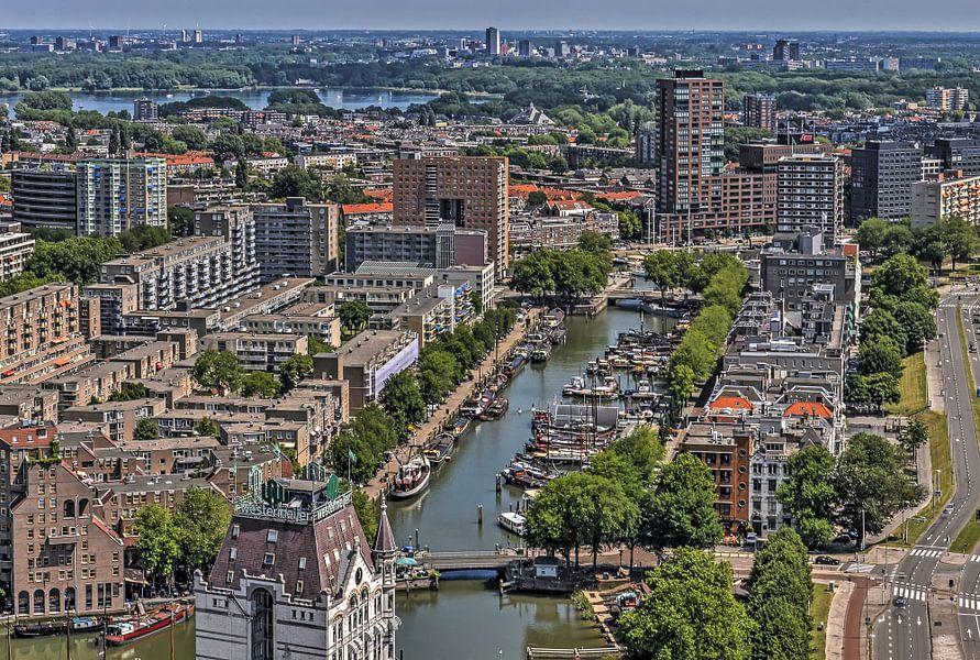 Rotterdam: het Haringvliet en de Kralingse Plas