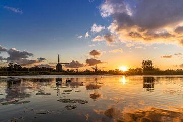 Zonsopkomst in de Oudorper polder