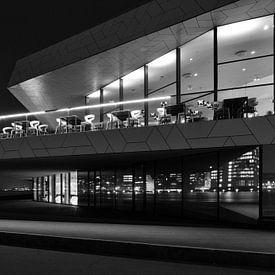 Amsterdam EYE Filmmuseum (S/W) von Erwin Blekkenhorst