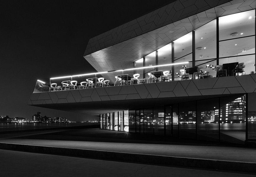 Amsterdam EYE Film Museum (Z/W) van Erwin Blekkenhorst