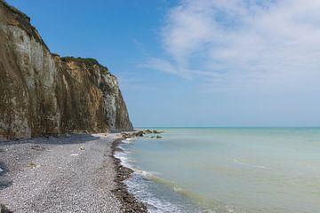 Kliffen van de Normandische Kust in Normandie, Frankrijk van Patrick Verhoef