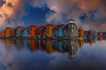 Port de Groningue (Reitdiep) sur Marcel Kieffer