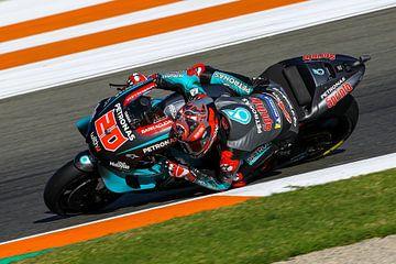 Fabio Quartararo/MotoGP Valencia van Marco Dek