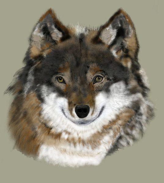 Wolf von ART & DESIGN by Debbie-Lynn