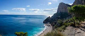 Belle plage espagnole sur Bastiaan Buurman