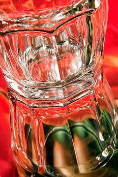 Ogen in glas van