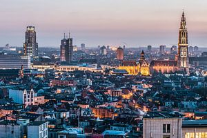 Antwerpen city by night