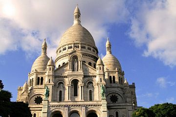 Sacré Coeur in Parijs van Gert-Jan Siesling