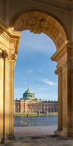 Neues Palais - Potsdam van Jack Koning