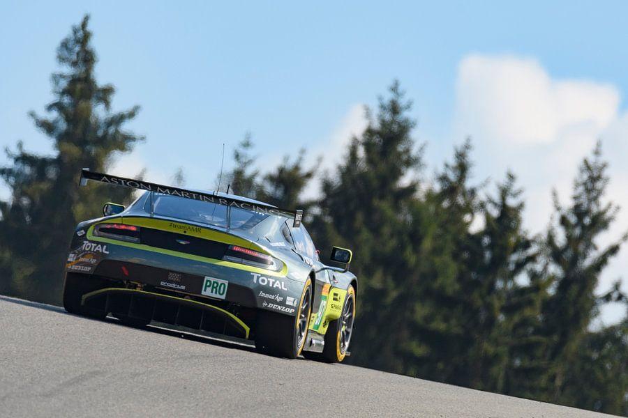 Aston Martin Racing  Aston Martin Vantage V8 race wagen van Sjoerd van der Wal