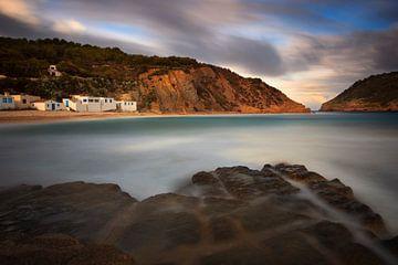 Cala Barraca, Portitxol, Costa Blanca, Spanien von Peter Bolman