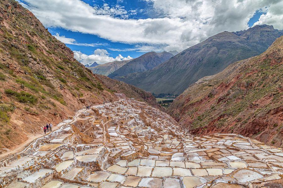 Salineras de Maras (Peru) van Tux Photography
