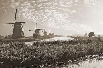 Vroeg op Kinderdijk van Teuni's Dreams of Reality
