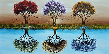 Change Of Seasons van Gena Theheartofart