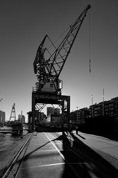 Hijskraan Rotterdam von Rob van der Teen
