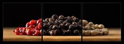 Rode, Zware en Witte Peper