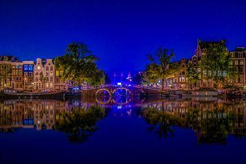 Amstel Blue Hour van Mario Calma