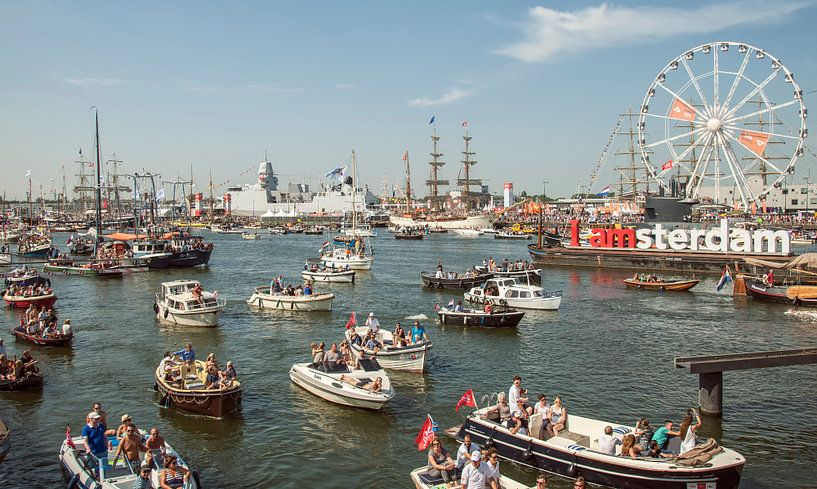 Sail Amsterdam 2015 op zaterdag van John Kreukniet