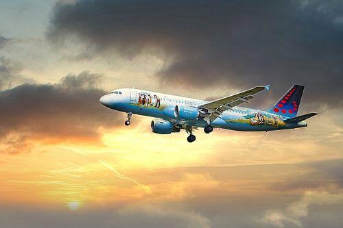 Vliegtuig Brussels Airlines Bruegel