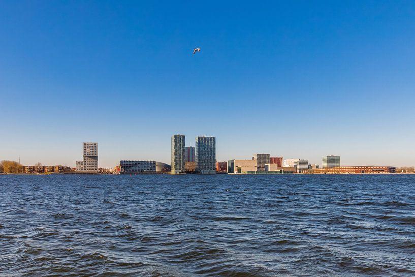 Skyline Almere van Sjoerd Tullenaar