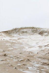 Besneeuwde duinen van Scheveningen | Winter strand in Den Haag