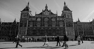 """""""Amsterdam Centraal Station"""" van"""