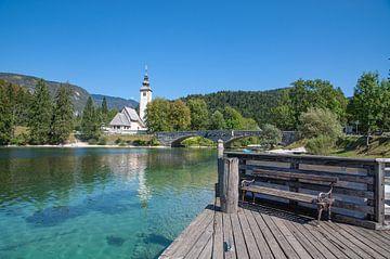 Bohinjsee in Slowenien von Peter Eckert