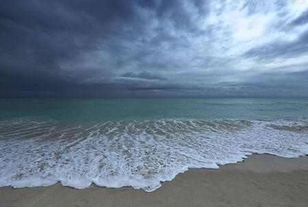 strand van Miami.