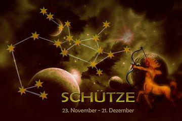 Sternbild - Schütze von Christine Nöhmeier