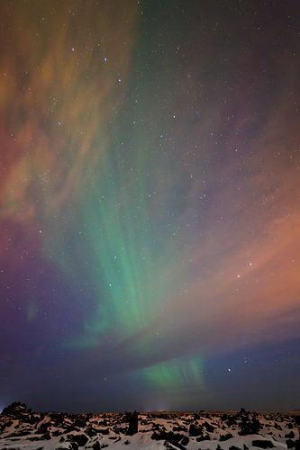 Aurora Borealis sur Arnold van Wijk