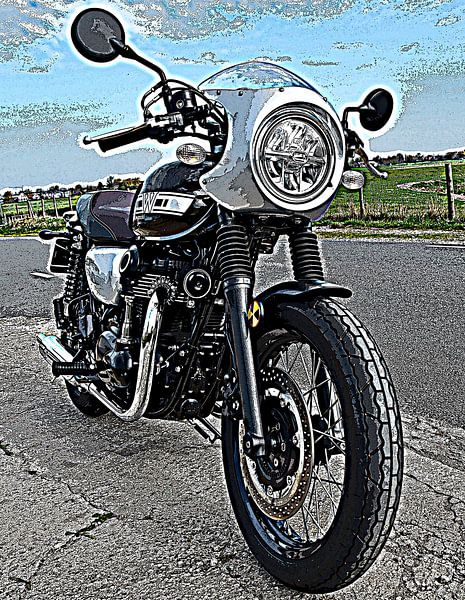 Kawasaki motorfietsen van Jan Radstake